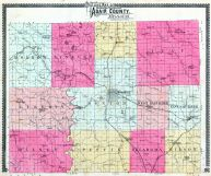 County Outline, Adair County 1898
